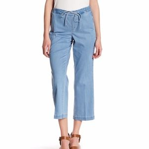 NYDJ Jamie Relaxed ankle pant blue light wash 12P
